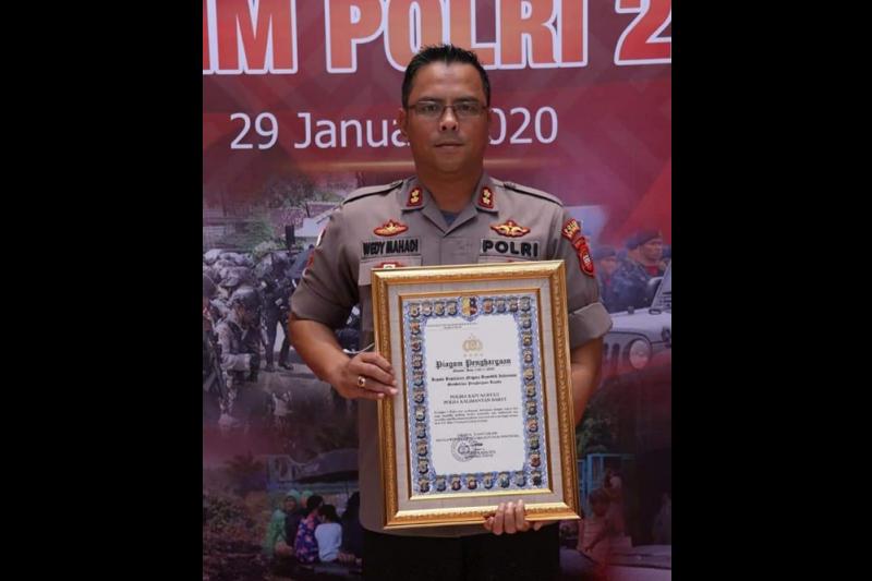 Peringkat 1 polres perbatasan terbaik se-Indonesia disabet Kapuas Hulu