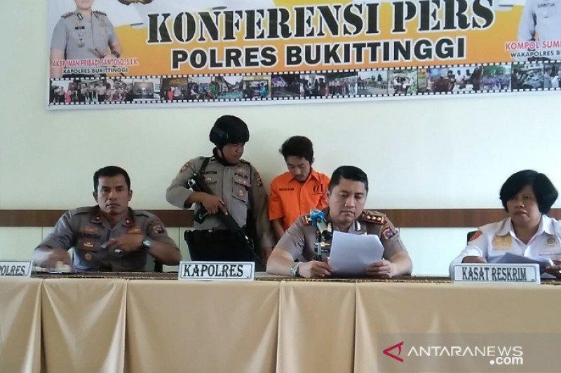 Polres Bukittinggi tangkap 11 penyalahguna narkoba