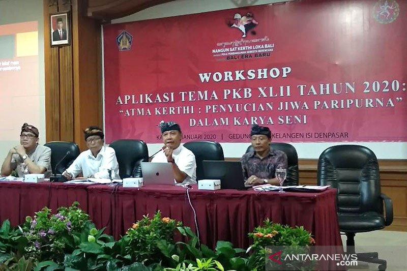 Pemprov Bali kompetisikan penciptaan materi seni pawai PKB 2020