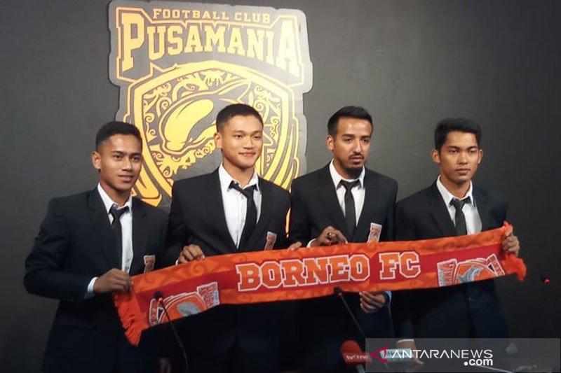 Pemain Borneo FC sisihkan sebagian gaji bantu penanganan pandemi COVID-19