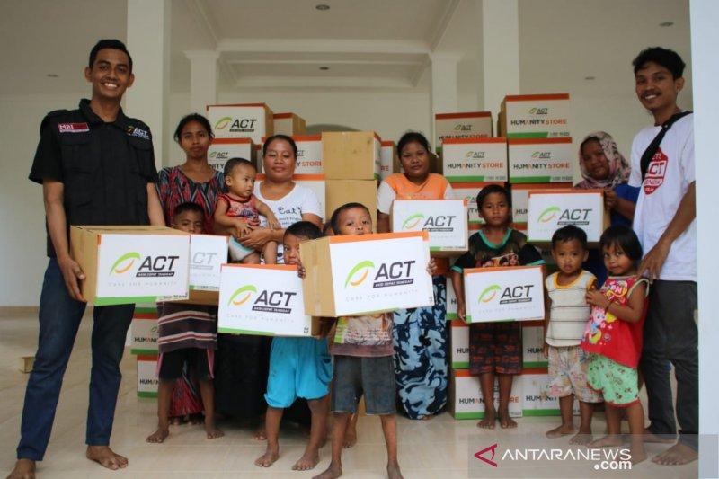 ACT beri ratusan paket bantuan untuk korban banjir rob Donggala