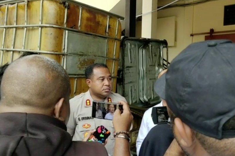 Polisi amankan oknum penimbun 3,5 ton solar bersubsidi