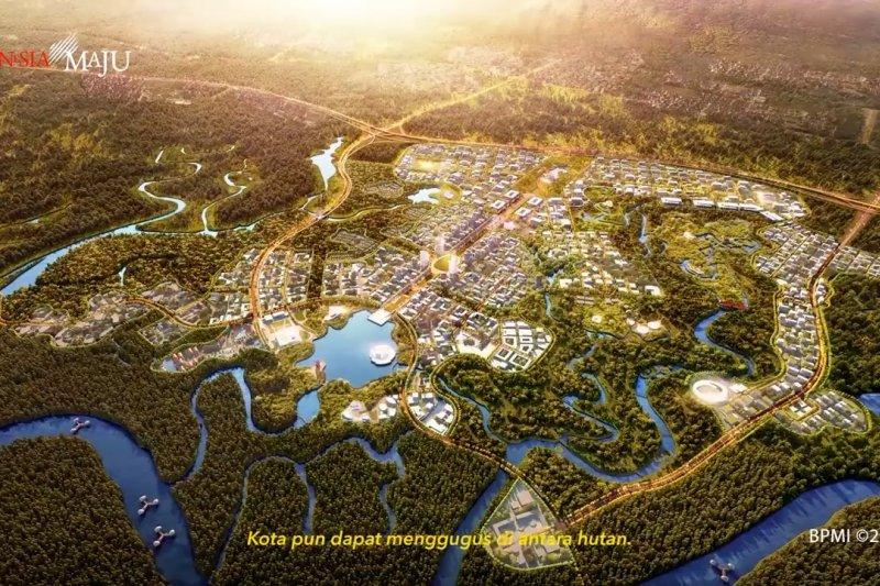 Anggaran pemerintah untuk bangun ibukota tak sampai Rp100 triliun