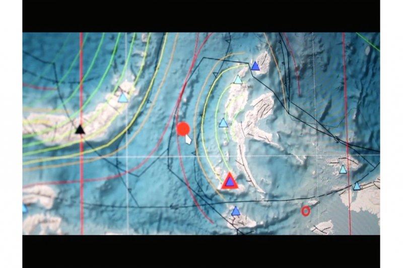 Gempa magnitudo 5,8 guncang Maluku Utara