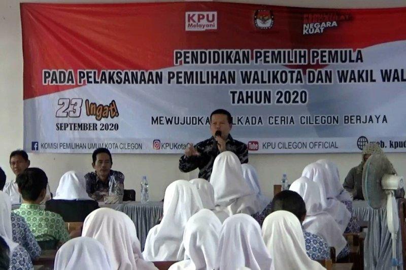 KPU Kota Cilegon gelar Pendidikan Pilkada bagi pemilih pemula