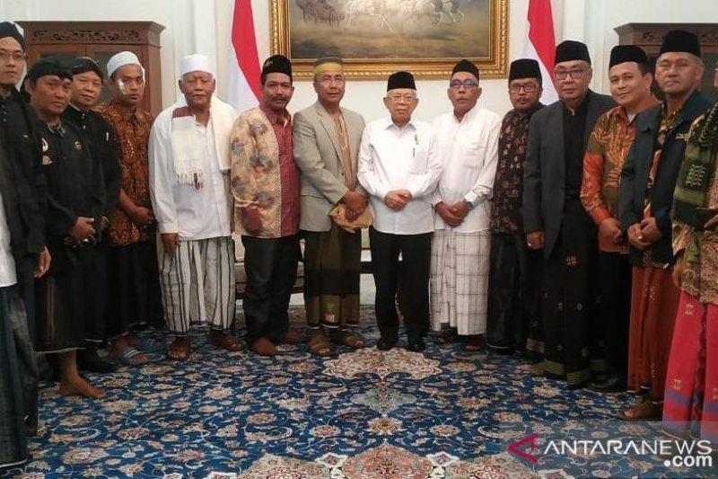 Bertemu Wapres, Ulama Jatim siap jaga kepemimpinan Ma'ruf Amin