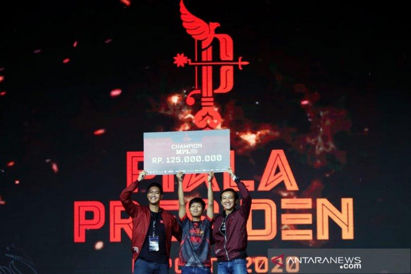 Juara MPL Piala Presiden Esports 2020 raih Rp125 juta