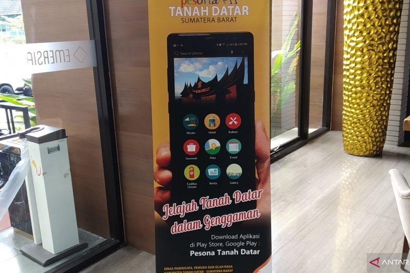 Tanah Datar luncurkan aplikasi akses informasi pariwisata