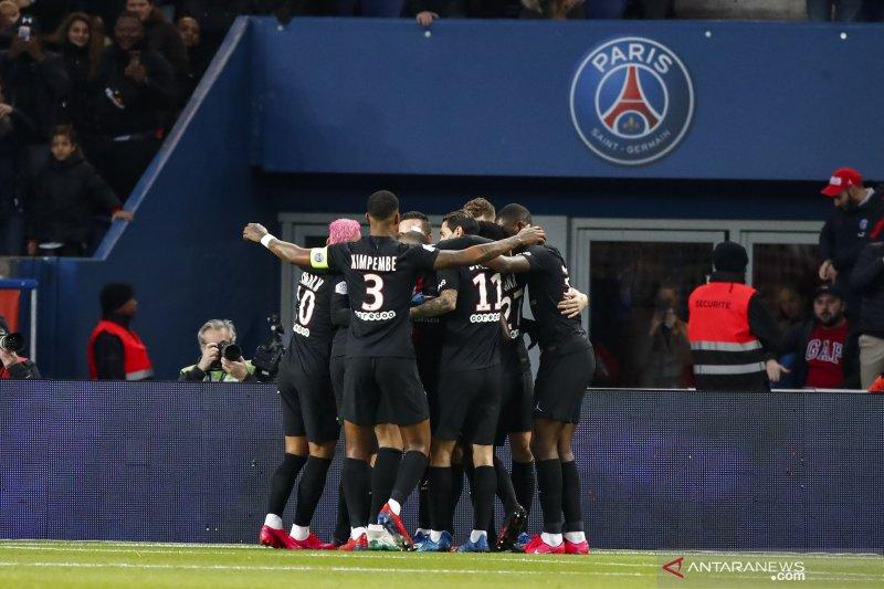 Paris Saint-Germain gilas Montpellier 5-0