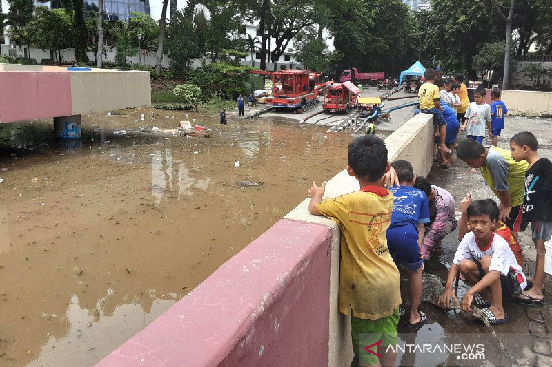Butuh dua hari untuk keringkan banjir Underpass Kemayoran