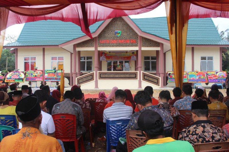 Bupati resmikan Kantor Camat bercorak Istana Kerajaan Inderapura