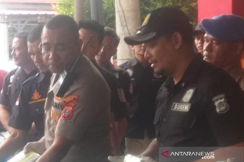 Polrestabes Medan gagalkan peredaran 10 kg sabu-sabu