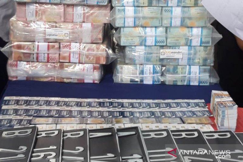 """Polda Jatim: Barang bukti """"MeMiles"""" Rp147 miliar"""