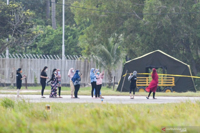 Do not worry over 238 Indonesians returning home