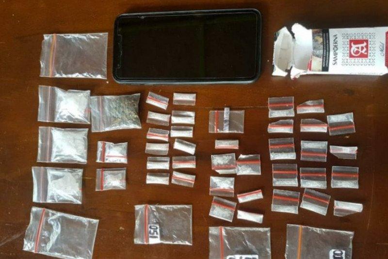 Polres Tanjung Balai sita 2 kilogram sabu dari Malaysia