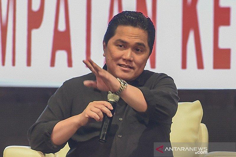 Erick Thohir berpeluang besar jadi menteri paling bersinar di Kabinet Indonesia Maju