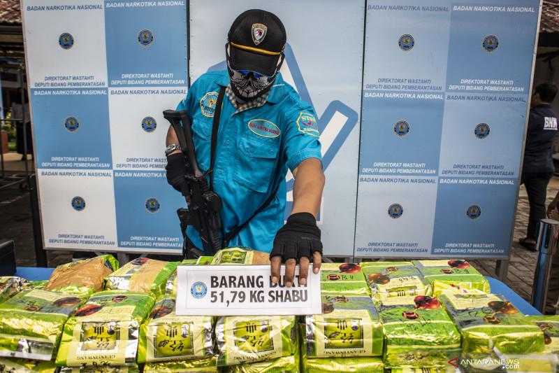 BNN musnahkan 51 kilogram sabu-sabu