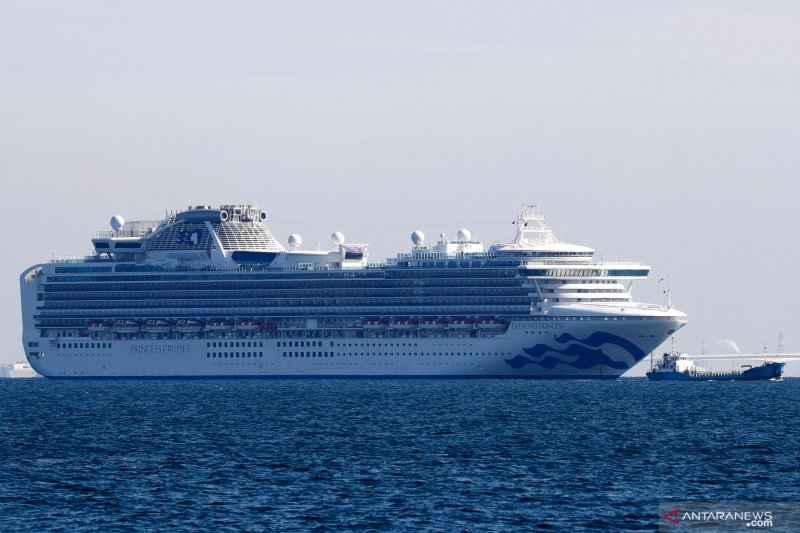 Japan ready to help repatriate 78 Indonesians from Diamond Princess