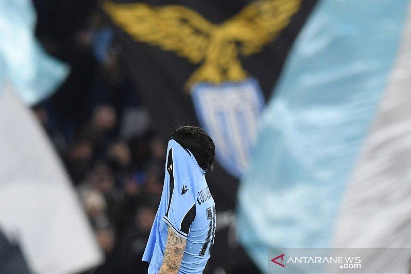 Liga Italia : Lazio gagal geser Inter Milan setelah ditahan imbang Verona