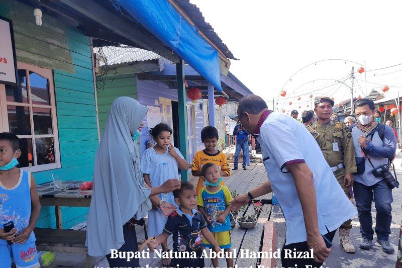 Kunjungan Bupati Natuna Abdul Hamid Rizal di Penagi