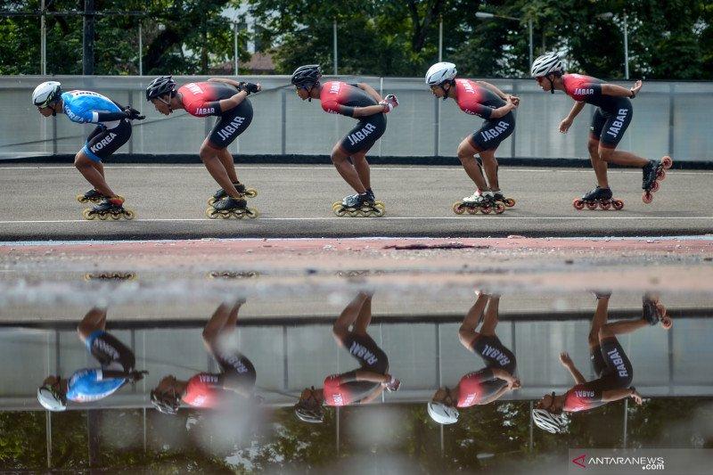 Persiapan PON Papua, atlet sepatu roda Jabar jalani latihan intensif