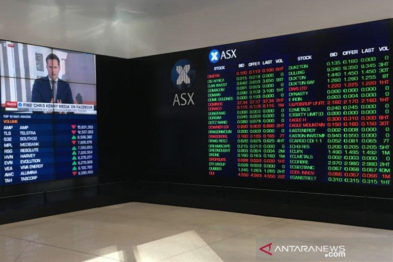 Saham Australia dibuka lebih tinggi didorong sektor energi