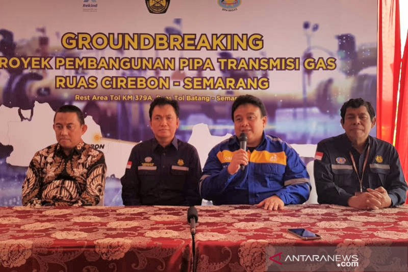 PT Rekayasa Industri siap bangun pipa gas Cirebon-Semarang tepat waktu
