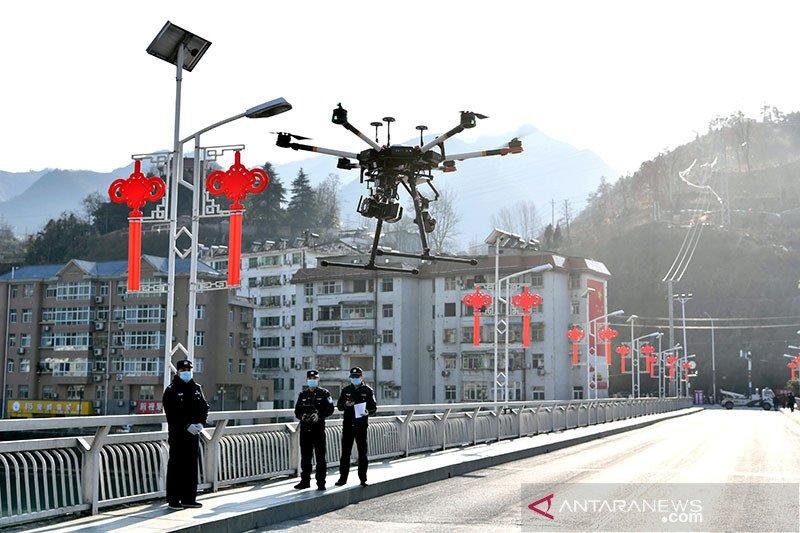 China kirim drone ke pos pasukan garda terdepan Tibet