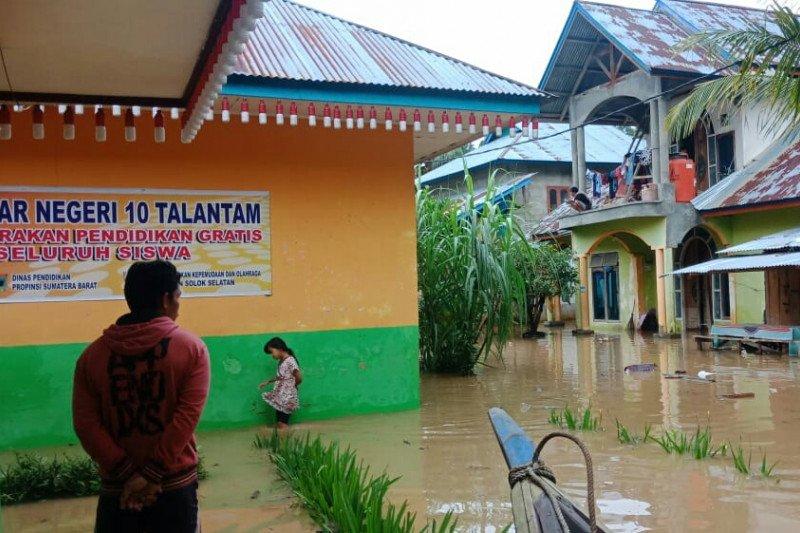 87 rumah terendam banjir akibat luapan Batang Hari
