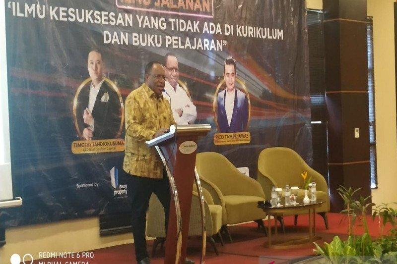 Wamen PUPR harapkan pemuda Papua mulai tekuni dunia usaha