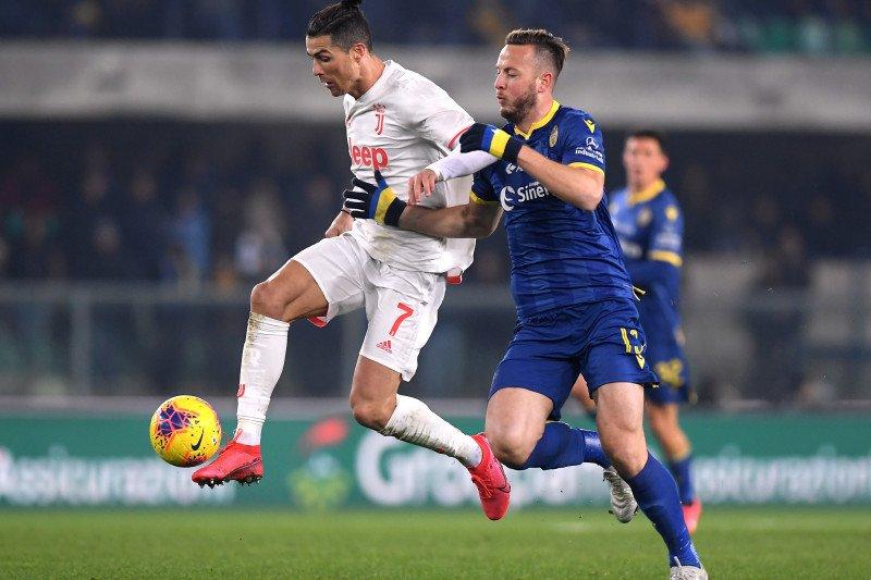 Mengejutkan, Juventus dibantai Verona 1-2