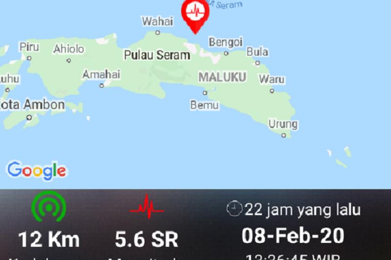 BPBD Maluku Tengah: Tidak ada korban jiwa dan pengungsian akibat gempa