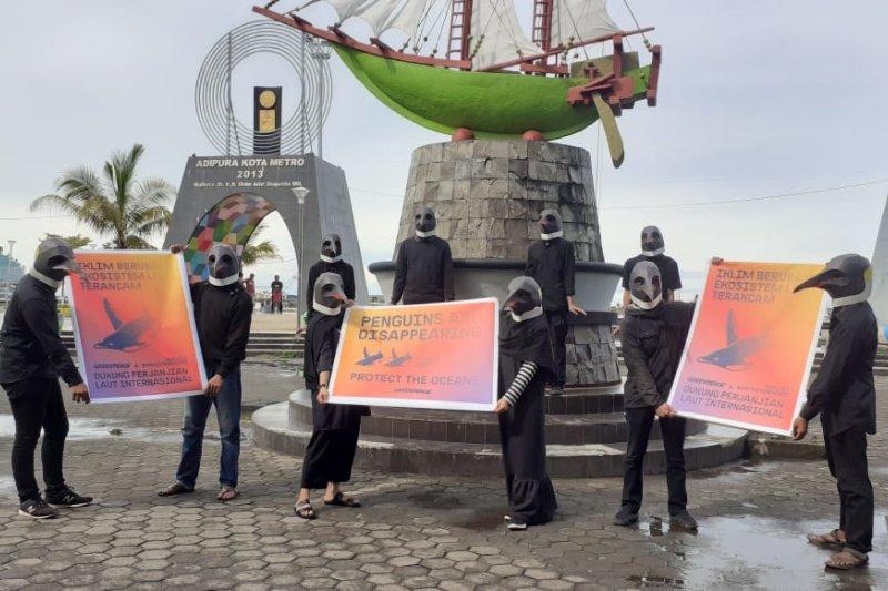 Greenpeace desak pemerintah ikut perjanjian laut internasional