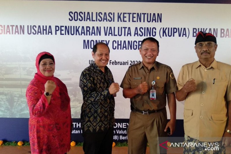 Asosiasi Valas Bali soroti masih adanya usaha tukar uang tanpa izin