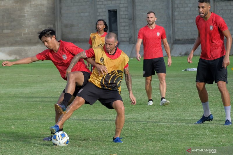 Kondisi fisik pemain Bali United dinilai alami peningkatan