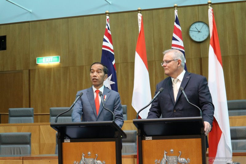 Jokowi ajak Australia ikut perjuangkan demokrasi dan HAM