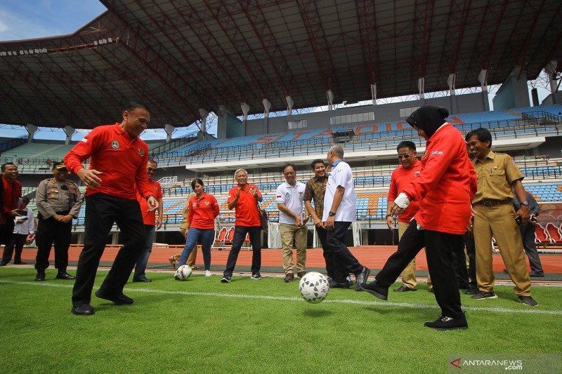Persiapan Piala Dunia U-20, Ketua PSSI inspeksi stadion Gelora Bung Tomo