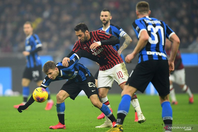 Inter jalani pekan yang berat jelang derby Milan