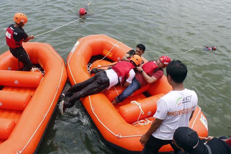 """ACT gelar pelatihan """"water rescue"""" bagi MRI"""