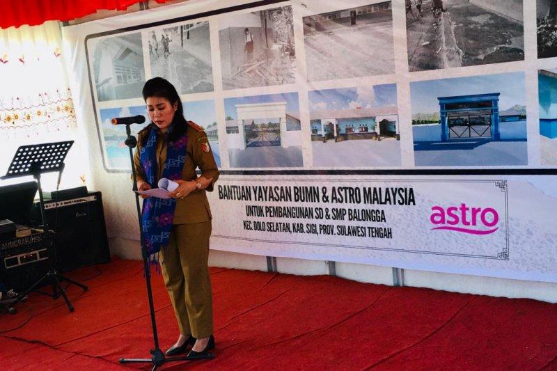 BUMN-ASTRO Malaysia bantu pulihkan pendidikan Sigi