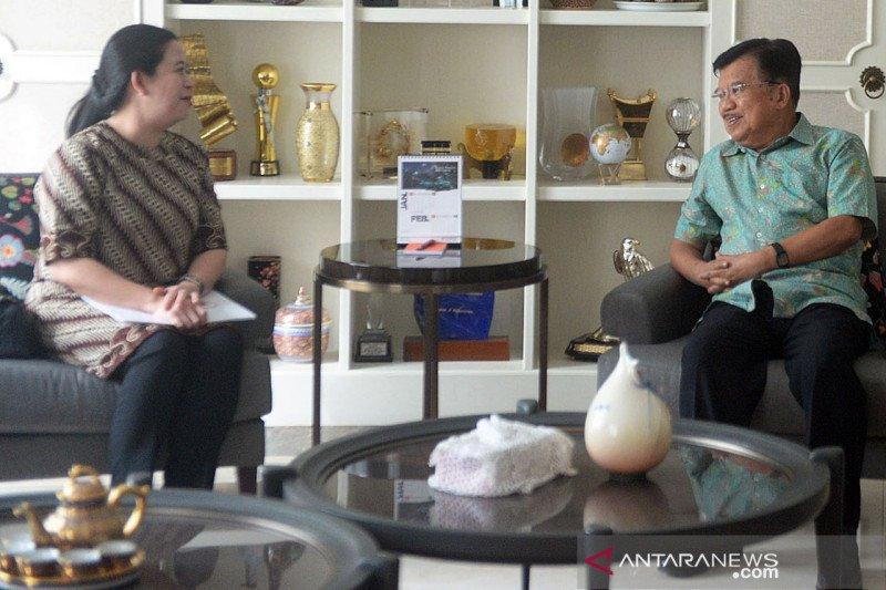 Ketua DPR kunjungi rumah Jusuf Kalla
