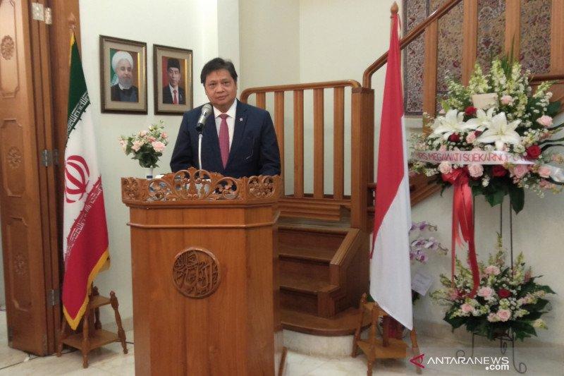Airlangga: Penyelesaian PTA tingkatkan perdagangan Indonesia-Iran