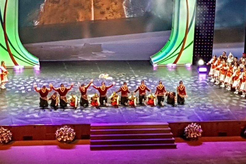 Tari Indang pukau penonton di The State Kremlin Palace Rusia
