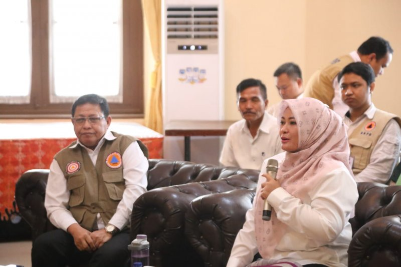 706 huntap tsunami Pandeglang ditargetkan selesai sebelum lebaran