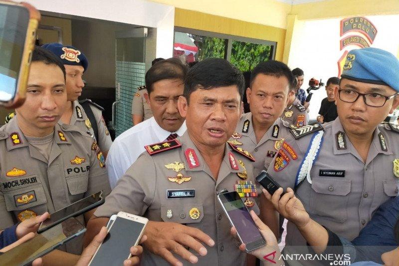 Kapolda Sulteng: sabu  seberat 1 Kg diduga untuk penghuni Rutan Palu
