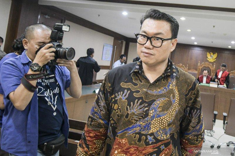 Eks Dirut Perindo Risyanto Suanda dituntut 5 tahun penjara