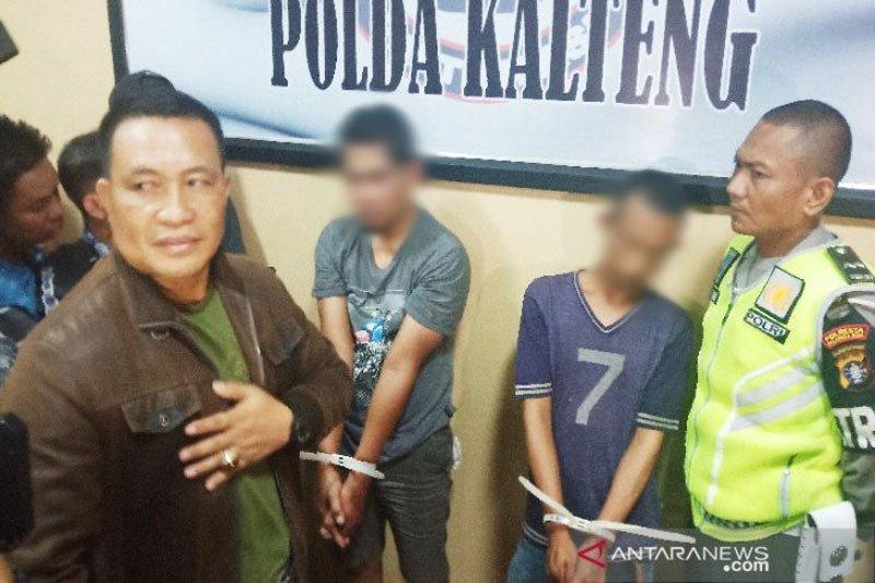 Dua pria ditangkap karena 382 gram sabu-sabu di Palangka Raya