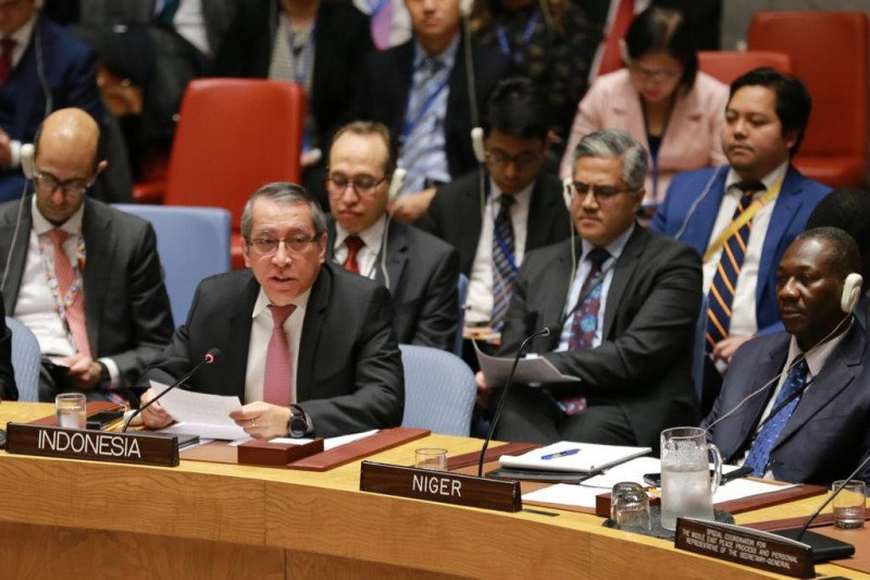 Rancangan resolusi DK PBB tekankan kepentingan Palestina