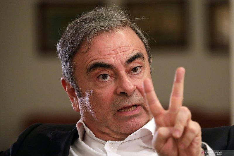 Carlos Ghosn dituntut ganti rugi Rp1,2 triliun