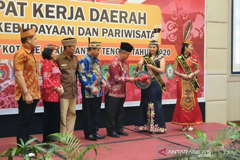 Kabupaten/kota di Kalteng diminta perbanyak agenda pariwisata